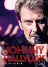 Calendrier officiel Johnny Hallyday 2014