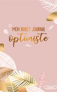 Mon bullet journal optimiste